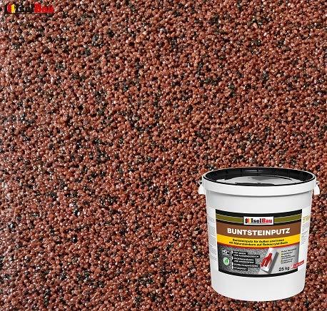 Buntsteinputz Mosaikputz BP80 (rotbraun, schwarz) 25kg Absolute ProfiQualität