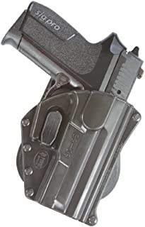 Fobus SG-09 SH Paddle Smart Conceal Concealed Carry Black Right Handed Pistol Pouch Holster Tisas Zigana T, F, FC, K, KC