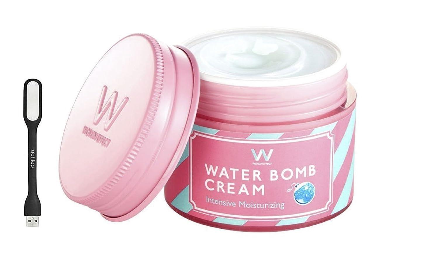 休日に矢抵抗WONJIN EFFECT ウォンジンエフェクト水爆弾クリーム/ウォーターボムクリーム [Water Bomb Cream] - 50ml, 1.69 fl. oz.+ Ochloo logo led