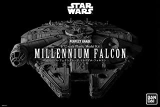 Revell GmbH 01206 1206 Revell-Bandai Perfect Grade Star Wars Millennium Falcon Model Kit, Grey, 48.2cm