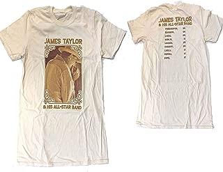 James Taylor & His All Star Band European Tour Soft Slim Fit T-Shirt