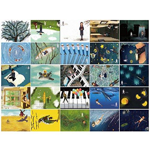 30 PCS 1 Satz schöne leuchtende Gruß-Postkarten Segen-Karten, Nr.3