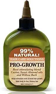 Difeel 99% Natural Hair Care Solutions, Pro-growth, 7.78 Ounce