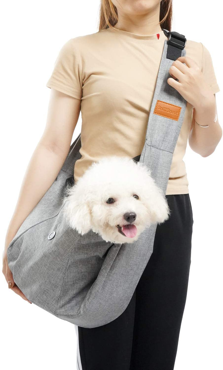 SniffSnout Pet Sling for Small Sturdy Dog Carrier Dogs - Max famous 70% OFF