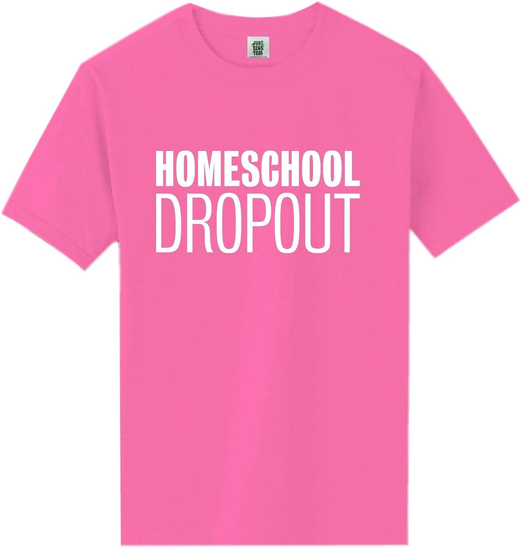 zerogravitee Homeschool Dropout Short Sleeve Neon Tee