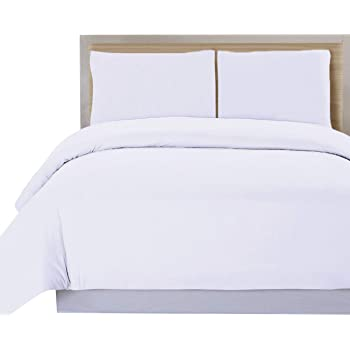DHestia Hostelería - Funda Nórdica para Edredón Blanca Hotel 50% Algodón 50% Poliéster (250x240 cm - Cama 150): Amazon.es: Hogar