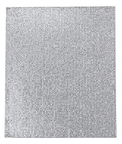 Mandala Crafts Adhesive Rhinestone Sticker for Bling Car Accessories, Glitter Wrap (Crystal, 2mm Rhinestone 7.75 X 9.5 Inches)