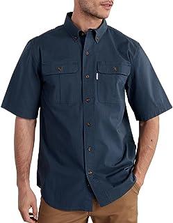 Carhartt Men's Short Sleeve Solid Work Shirt
