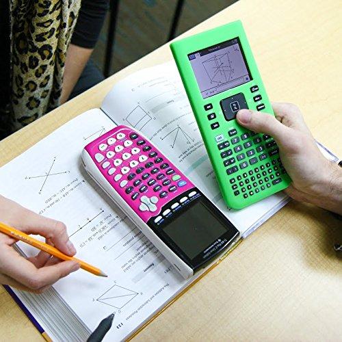 Guerrilla Silicone Case for Texas Instruments TI Nspire CX/CX CAS Graphing Calculator, Green Photo #7