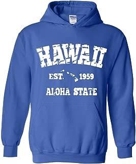 Hawaii EST 1959 Aloha State Unisex Hoodie Sweatshirt