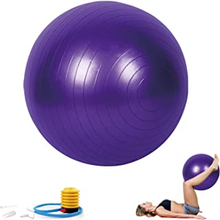 Sodeno Yoga Ball 65cm, Exercise Ball Fitness, Pilates, Birthing, Therapy, Office Ball Chair, Classroom Flexible Seating