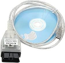 AuraTech K+ CAN Ediabas INPA Coding Cable DCAN Interface Coding Support E serials Interface for BMW R56 E87 E93 E70