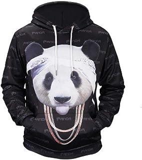 BAGFP Sudadera con Capucha 2020 Otoño E Invierno Hombre Nuevo Panda Impresión En 3D Suéter con Capucha Marea Marca Ropa De Gran Tamaño Europea Y Americana S-4Xl