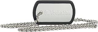 Verbatim 16GB Dog Tag USB Flash Drive - Black - 98671