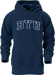 رداء بقلنسوة للشباب من الجنسين مطبوع عليه Uray Sportswear NCAA BYU Cougars