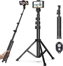 Handy Stativ Phone Selfie Stick,131cm Leichtgewicht Wireless Selfie-Stange mit 3 in 1..