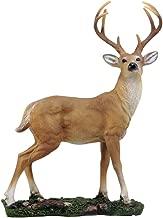 Ebros Gift Wildlife 8 Point Trophy Buck Statue 15.25