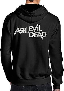 SAMMOI Ash Vs Evil Dead Men's Fleece Hoodie Black