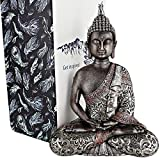"25DOL Buddha Statues for Home. 10.3"" Buddha Statue (The Final Meditation). Collectibles and Figurines, Meditation Decor, Spiritual Living Room Decor, Yoga Zen Decor, Hindu and East Asian Décor"