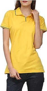 Scott International Women's 100% Pure Organic Cotton Polo T-shirt