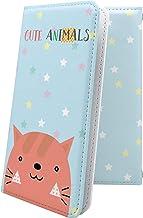 ケース REGZA Phone T-01C 互換 手帳型 猫 ネコ レグザフォン レグザ 互換 手帳型ケース 猫柄 regzaphone t01c かわいい 可愛い kawaii lively [75i9279j7L]
