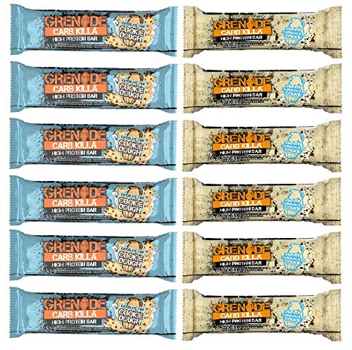 Grenade Carb Killa Bar 2 Flavour Cookie Mix (12 Pack)
