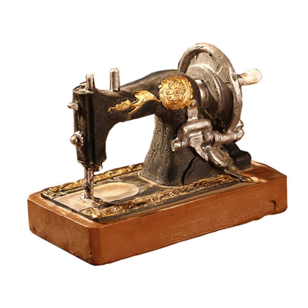 THREE 1 unid Vintage Creativo Estilo Antiguo Máquina de Coser ...