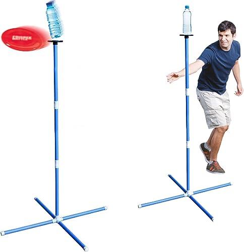 Frisbee Battle Pro®   Kit Complet   1 Frisbee   2 Poteaux   1 Sac   Jeu d'Extérieur   Plein Air   Sport Outdoor   Act...
