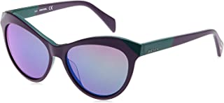 نظارة شمسية كات اي من ديزل للجنسين، متعددة الألوان مقاس 55-15-140 ملم - DL0225 83Q