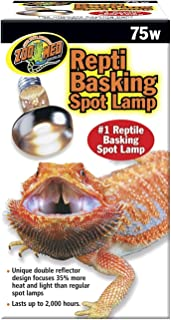 Zoo Med Repti Basking Spot Lamp Replacement Bulb 75 Watts - Pack of 3