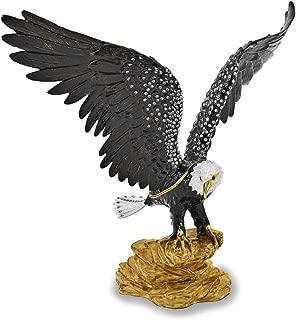 Bejeweled Patriot Large Bald Eagle Trinket Box Luxury Gifts