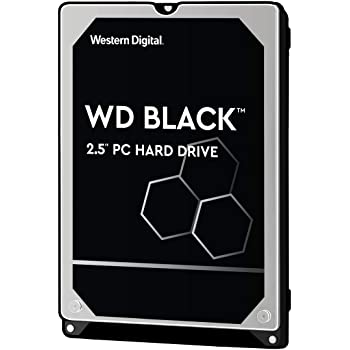 "Western Digital 1TB WD Black Performance Mobile Hard Drive - 7200 RPM Class, SATA 6 Gb/s, 64 MB Cache, 2.5"" - WD10SPSX"