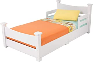 Wood & Style Addison Toddler Bed White Decor Comfy Living Furniture Deluxe Premium Collection