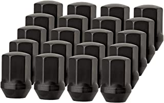 DPAccessories LCB3D8HEOBK04020 20 Black Lug Nuts for Chrysler 300 Dodge Charger Challenger - Replaces 6509422AA Wheel Lug Nut