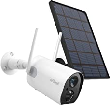 Wireless Outdoor Security Camera, WiFi Solar Rechargeable...