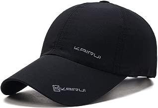 Oulm Baseball Adjustable Black Cap for Men & Boys - (CP-1)