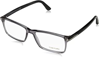 Men's TF 5408 Rectangular Eyeglasses 56mm, Transp. Grey,...