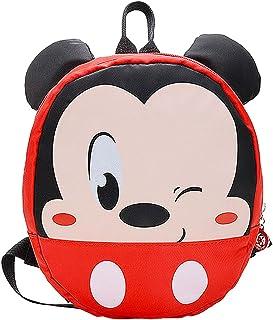 Mickey Mouse School Bag Mochila para Niños, útiles Escolares, Regalos para Niños, el Sueño de Disney para Niños, Diseño de Dibujos Animados en 3D Mickey Mouse