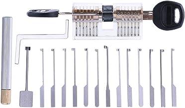DBH - Juego de 14 púas de bloqueo de Dimple Kaba con cerradura Kaba transparente, herramientas de cerrajero