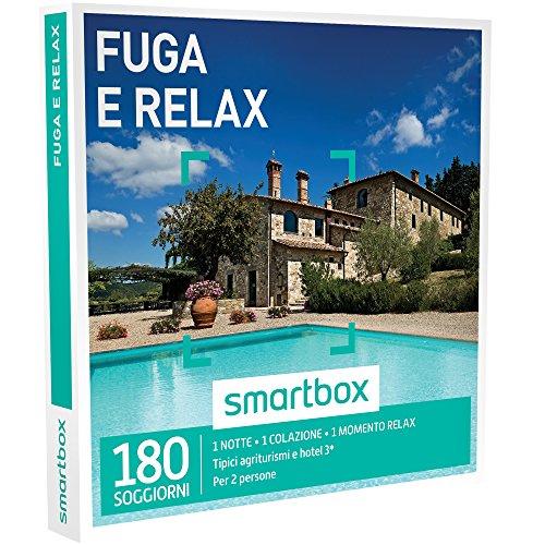 Smartbox - Fuga Relax - 180 Soggiorni Dal Fascino Rustico: In Agriturismi, B&B o Hotel 3* Con Momento Relax, Cofanetto Regalo