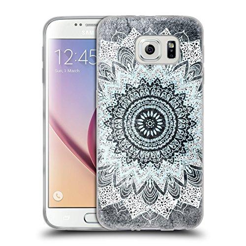 Head Case Designs Licenza Ufficiale Nika Martinez Boho Chic BM Mandala Cover in Morbido Gel Compatibile con Samsung Galaxy S6