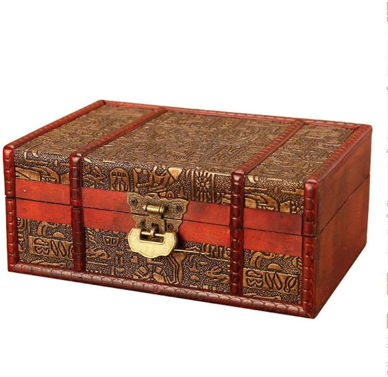 Kosmetiketui Kulturbeutel Ägyptische Ägyptische Ägyptische Europäische Antike Hölzerne Schmuck Aufbewahrungsbox Vintage Handmade Home Desktop Finishing Dekorative Holzkiste Handwerk Geschenke B07NYG7XWQ fdd62b