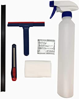 G Greenfilm Static Cling Window Tint Installation kit Cling Universal for 70% 20% 5%