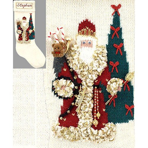 Elegant Heirlooms Christmas Stockings Kits Father Christmas