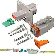 deutsch flange mount connectors