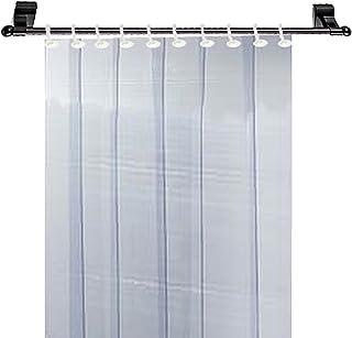 Kuber Industries 6 Strips PVC AC Curtain-7ft, 0.5mm Transparent (CKTS18)