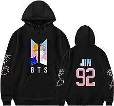 Xllife Kpop BTS Love Yourself Hoodie Suga V Jin Jimin Jung Kook Portrait Sweater Jacket