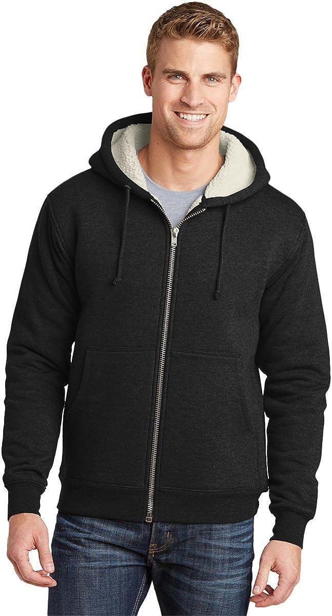 Branded goods Cornerstone CS625 Sherpa-Lined Fleece 2XL - Jacket Black Popular brand