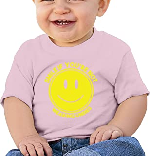Smile Customized Graphic Baby O-neck Tee Cotton