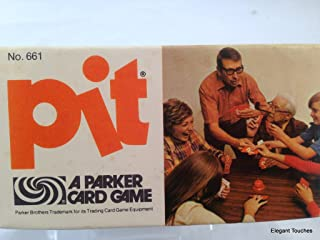 Pit Card Game With Bell 1973 Parker Brothers